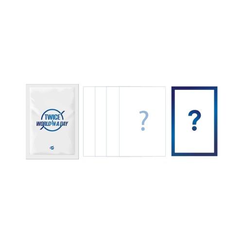 韓国(K-POP)・アジア, 韓国(K-POP) TWICE TRADING CARD(5) TWICE 2020 TWICE WORLD IN A DAY