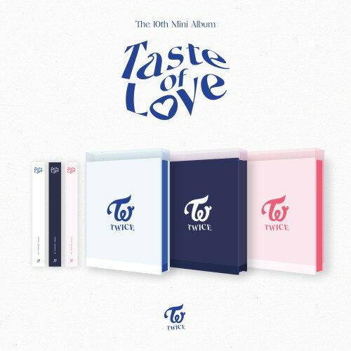 CD, 韓国(K-POP)・アジア 3withdramaTWICE 10TH MINI ALBUM Taste of Love 3
