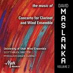 (CD) デヴィッド・マスランカ作品集 Vol.2 / 演奏:ユタ大学ウィンド・アンサンブル (吹奏楽)
