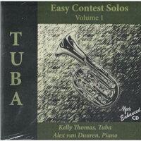 (CD)テューバのための易しいコンテスト・ソロ集第1集/演奏:ケリー・トーマス(テューバ)