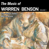 (CD)ウォーレン・ベンソン作品集Vo.1/演奏:アメリカ海兵隊バンド(吹奏楽)