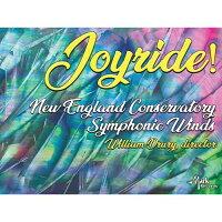 (CD)ジョイライド!/指揮:ウィリアム・ドラリー/演奏:ニューイングランド音楽院シンフォニック・ウィンズ(吹奏楽)