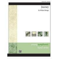 (楽譜)ジャーニー/作曲:ウィリアム・パランジ(吹奏楽)(スコア+パート譜セット)