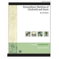(楽譜)時計仕掛けと蒸気の並外れた機械/作曲:スコット・ワトソン(吹奏楽)(フルスコアのみ)
