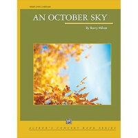 (楽譜)10月の空/作曲:バリー・ミルナー(吹奏楽)(フルスコアのみ)
