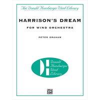 (フルスコアのみ)ハリスンの夢/作曲:ピーター・グレイアム(吹奏楽)