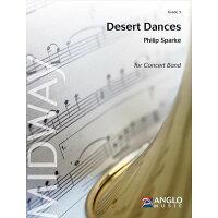 (楽譜)デザート・ダンス/作曲:フィリップ・スパーク(吹奏楽)(フルスコアのみ)