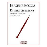 (楽譜)ディヴェルティスマン/作曲:ウジェーヌ・ボザ(イングリッシュホルン(オーボエ)+ピアノ)