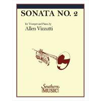 (楽譜)トランペット・ソナタ第2番/作曲:アレン・ヴィズッティ(トランペット&ピアノ)