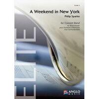 (大判フルスコアのみ)ウィークエンド・イン・ニューヨーク/作曲:フィリップ・スパーク(吹奏楽)
