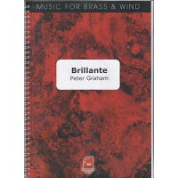 (スコア+パート譜セット)ブリランテ/作曲:ピーター・グレイアム(ユーフォニアム&ピアノ)