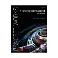 (フルスコアのみ)ブリュッセル・レクイエム/作曲:ベルト・アッペルモント(吹奏楽)