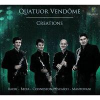 (CD)クリエイションズ/演奏:ヴァンドーム四重奏団(クラリネット4重奏)