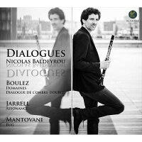 (CD)対話(ダイアローグ)/演奏:ニコラ・バルデイルー(クラリネット)