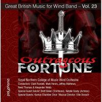 (CD)非道な運命:イギリス吹奏楽作品集第23集/演奏:王立北部音楽大学ウインド・オーケストラ(吹奏楽)