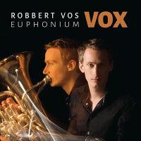 (CD)ヴォックス(VOX)/演奏:ロベルト・フォス(ユーフォニアム吹奏楽ブラスバンドファンファーレバンド)