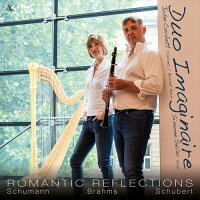 (CD)ロマンティック・リフレクションズ/演奏:デュオ・イマジネール(クラリネット、ハープ)