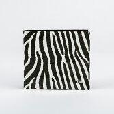 【NowaClassic】Zebra★送料無料★ベルギー製Tyvek(タイベック)製折り財布