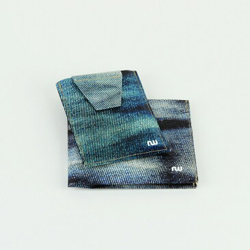 【送料無料】財布 二つ折り カードケース カードホルダー カード入れ タイベック 札入れ ウォレット 小銭入れ なし 2つ折り さいふ サイフ メンズ レディース 男性 女性 ベルギー製 made in Belgium wallet saifu ギフト 祝い プレゼント【NOWA Classic Jeans】