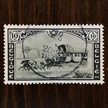 【送料無料】郵便馬車 car postal 切手 1935年 昭和10年 3枚セット