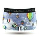 【レディース】DARK SHINY Ladies' Boxer Briefs - balloon Printing(下着 下着 インナー アンダーウェア おしゃれ オシャレ パンツ アンダーウェア)