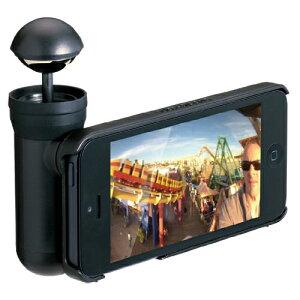 【送料無料】【送料無料】プリンストン iPhone 5用360°パノラマ撮影キット bubblescope ブラッ...