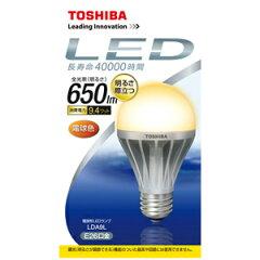 【3500円以上お買い上げで送料無料】東芝 LED電球 E-CORE 一般電球形9.4W 40W形相当 電球色相当...