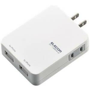 【3500円以上お買い上げで送料無料】エレコム ELECOM USB充電ポート付タップ iPhone対応 1口 2...