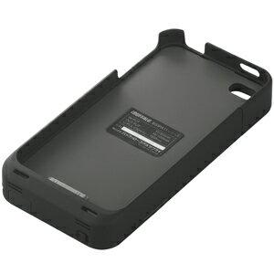 【送料無料】バッファロー BUFFALO iPhone 4用 バッテリー内蔵ケース apple認証モデル ブラック...