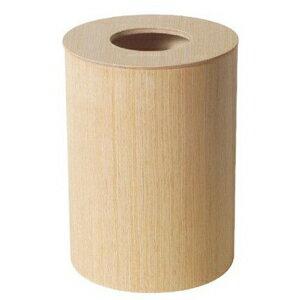 木製ルーム用ゴミ入れ蓋付栓白木952H大VGM01952