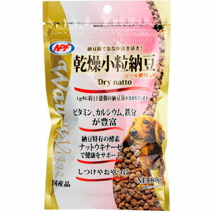 ナチュラルペットフーズ Wau Wau 乾燥小粒納豆 80g 4100054 ◇◇