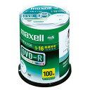 マクセル maxell データ用 DVD-R 16倍速 100枚 プリンタブル DR47WPD.100SPA