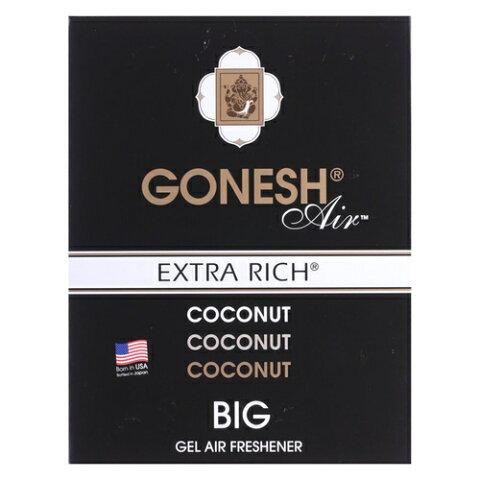 GONESH ガーネッシュ ビッグゲル エアフレッシュナー ココナッツ