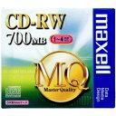 マクセル maxell データ用 4倍速対応CD-RW 1枚 700MB CDRW80MQ.S1P