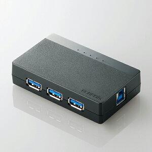 【3500円以上お買い上げで送料無料】エレコム ELECOM USBHUB3.0 USB3.0対応 バスパワー 4ポート...