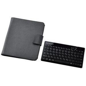 【送料無料】エレコム ELECOM iPad2専用 ケース付きワイヤレスキーボード TK-FBP030ECBK