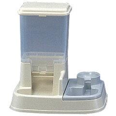 【3500円以上お買い上げで送料無料】アイリスオーヤマ ペット用自動給餌器 アイボリー JQ-350-IV