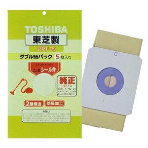 東芝 掃除機専用純正紙パックフィルター VPF-6