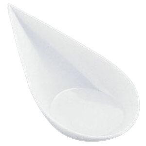 【5000円以上お買い上げで送料無料】ソリア 雫型スプーン (40個入) PS30362 ホワイト NSL2502