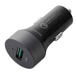 エレコム ELECOM 車載充電器(Quick Charge3.0) ブラック MPA-CCUQ01BK