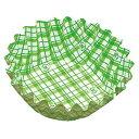 紙カップ ココケース 丸型(500枚入) 7号深 緑 XAZ3707 1