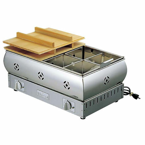 EBM 18-8 電気 おでん鍋 8寸 24cm 0876000【smtb-u】:webby mono