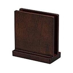 ヤマコー SC 木製メニュースタンド ブラウン 15288