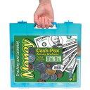 【送料無料】Learning Resources Cash Pax(R) Money Briefcase レジスタイルブリーフケース 紙幣&コインセット LER 4343