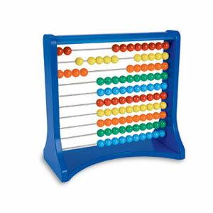 【送料無料】Learning Resources Ten-Row Abacus カラフル10列そろばん LER 1323