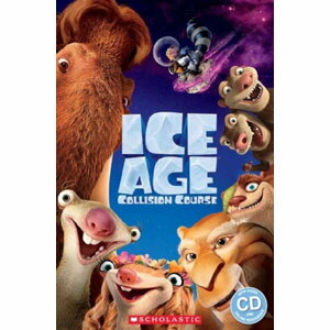 Scholastic UK Scholastic Popcorn Readers Level 2 Ice Age: Collision Course (with CD)