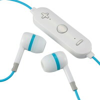 オーム電機 AudioComm ワイヤレスイヤホン ブルー HP-WBT170Z-A
