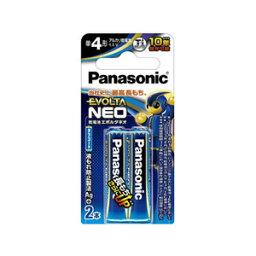 パナソニック PANASONIC EVOLTA NEO エボルタネオ 単4形アルカリ乾電池 2本パック ブリスター LR03NJ/2B