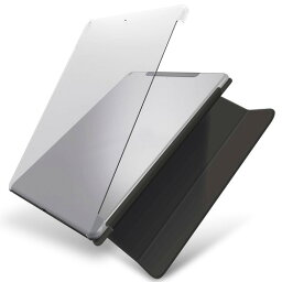 エレコム iPad ケース 第7世代 第8世代 10.2 対応 シェル ポリカーボネート スマートカバー対応 TB-A19RPV2CR