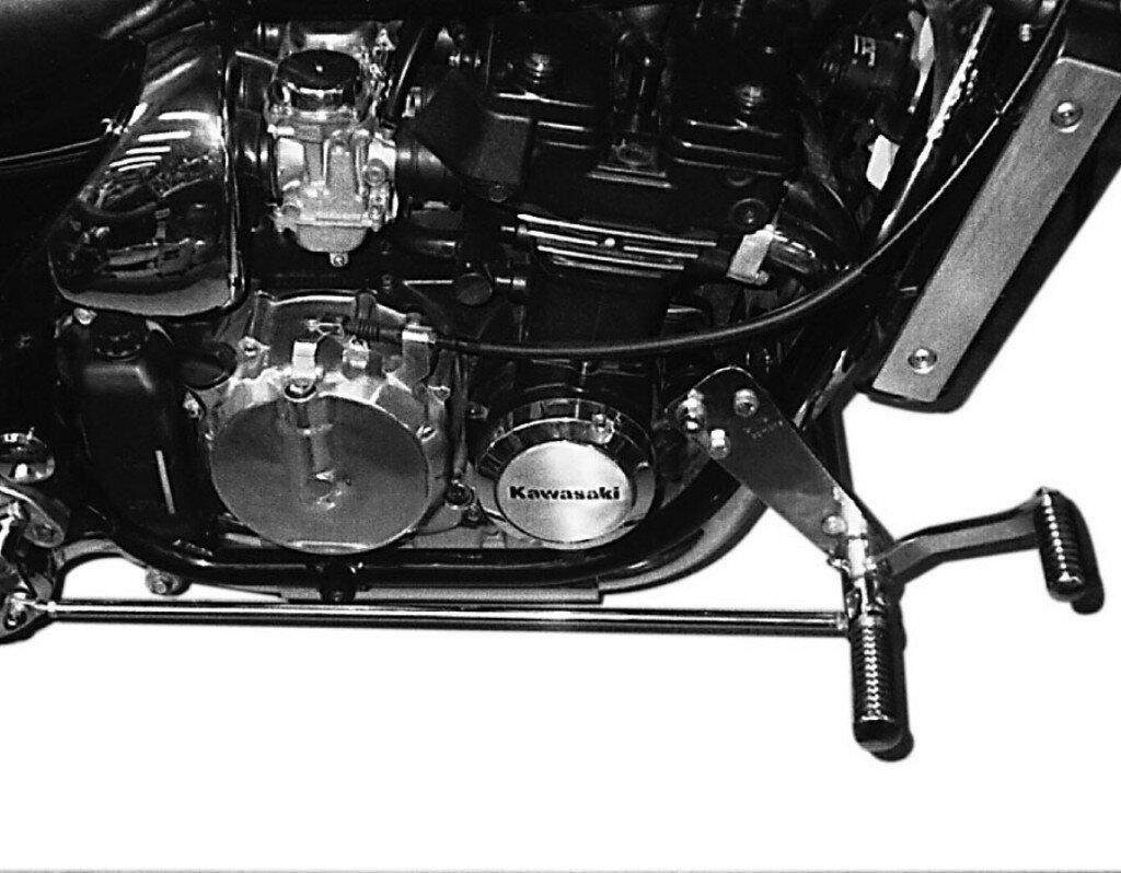 ステップ・スタンド, ステップ・フットペグ MOTORRAD BURCHARD Forward Controls Kit 45cm forward TUV ZL 600 ZL 600